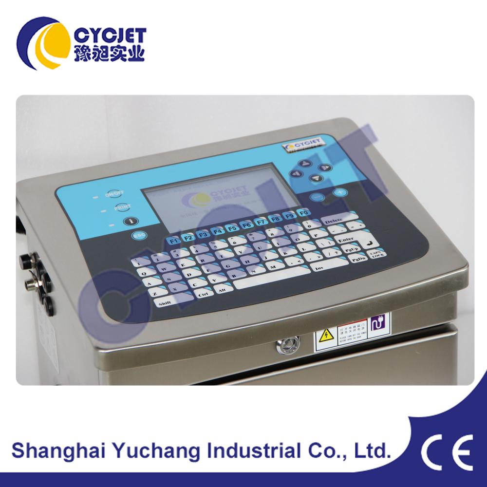 CE certification Small Character Inkjet Printer/Online Ink-jet Coding Machine/Automatic Inkjet Printer
