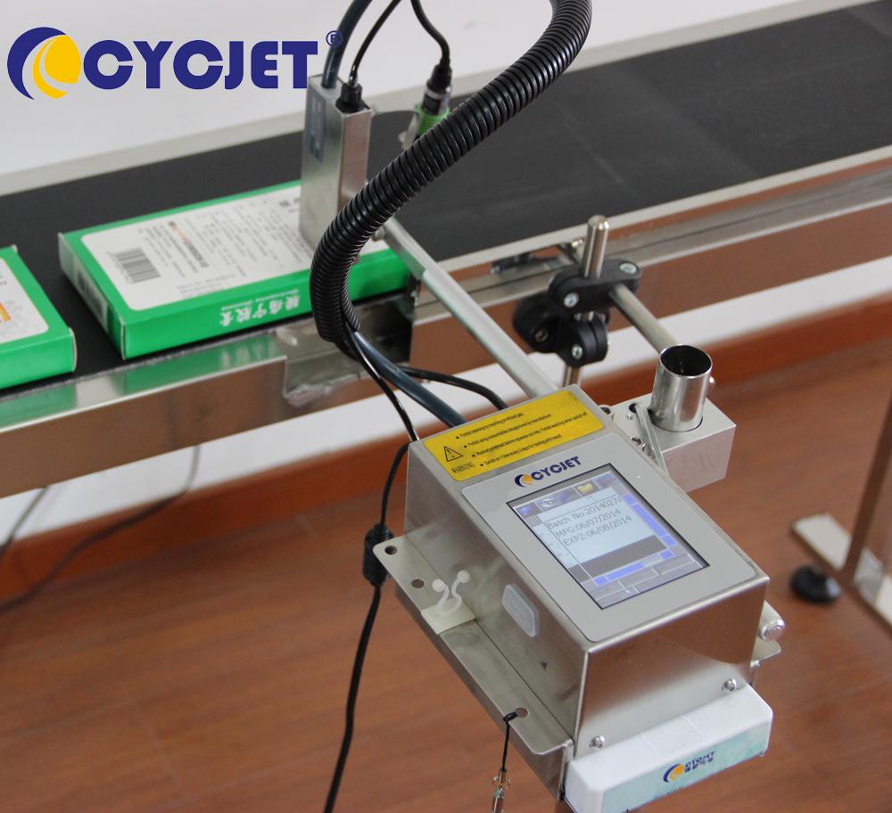 CYCJET ALT200 Inkjet Batch Number Code Date Bottle Printer