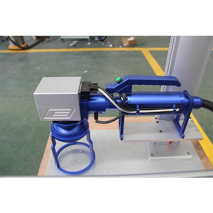 Hot sale portable handheld mini fiber color laser marking machine