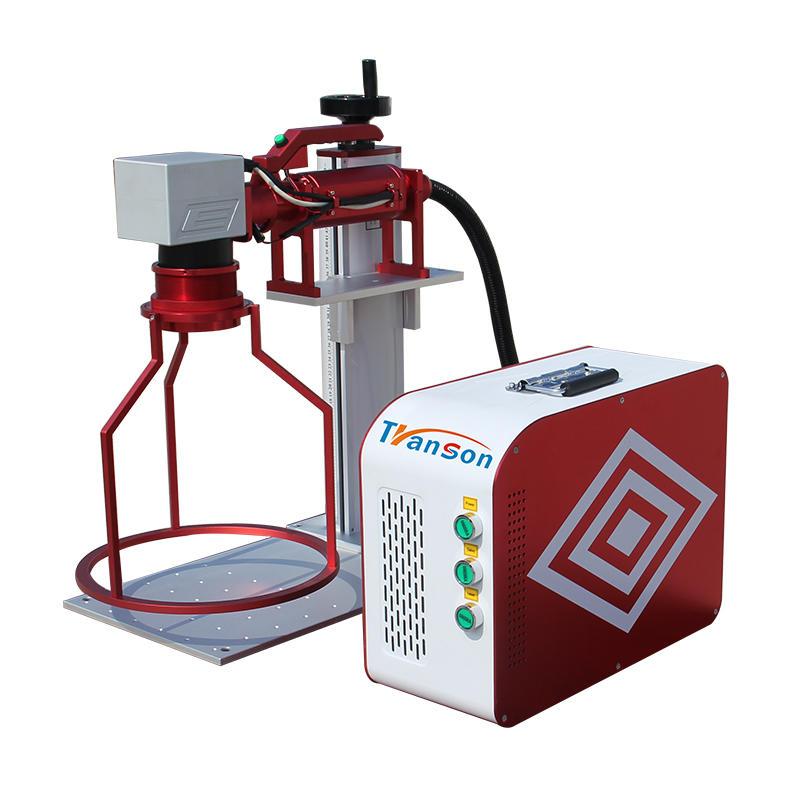 factory price IPG cnc 30W fiber laser marking machine for marking rings