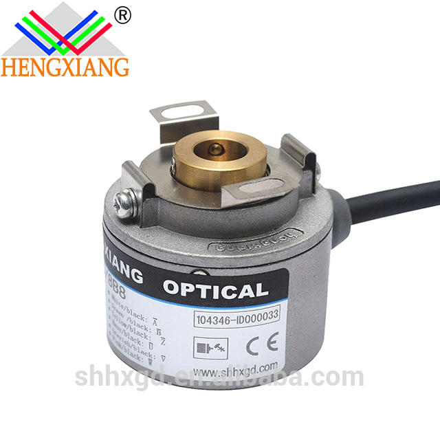 incremental optical rotary encoder hollow shaft encoder K35 series 35mm encoder