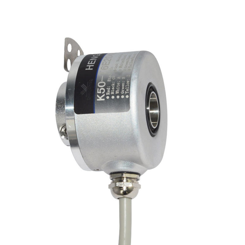 through hole 14mm K50 hollow shaft incremental encoder 4096 ppr 4096 pulse 4096ppr waterproof encoder