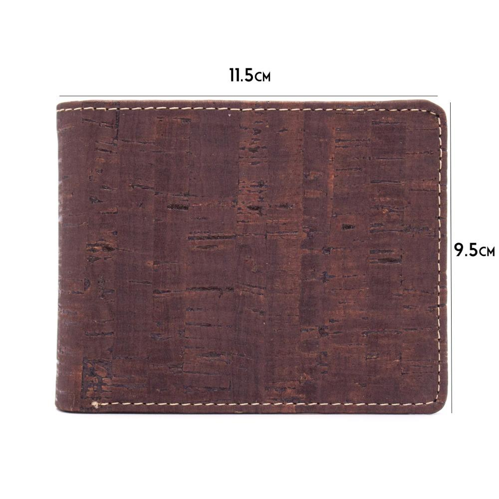 Newest Fashion Eco-friendly Trendy Men's Natural Cork Wallet