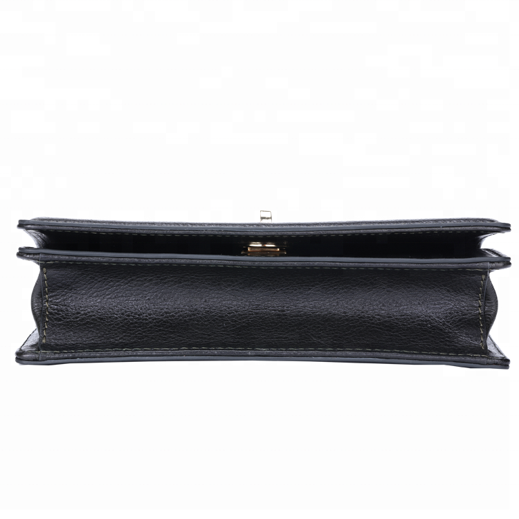 Factory supply high quality genuine leather women's long wallet