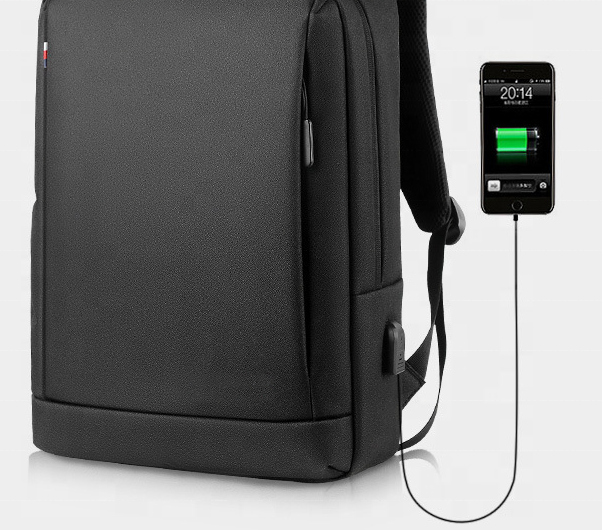 mochilas Unisex Casual USB Charger Laptop Bag Smart Port Backpack for men waterproof lightweight OXFORD fabric business laptop backpacks