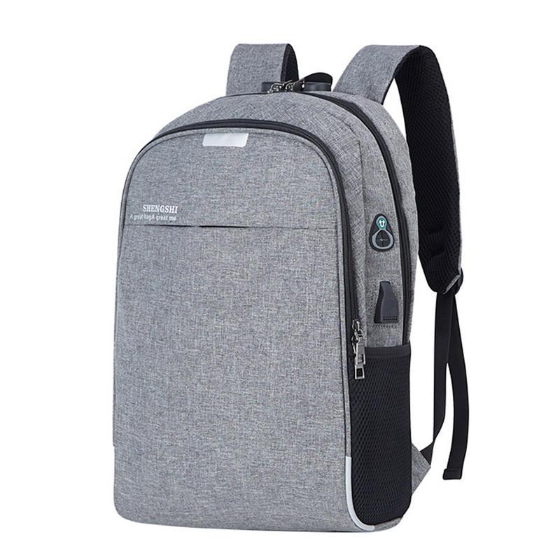 mochilas Large Men New Laptop USB Backpack School Bag Anti Theft Men For 16 inch Backbag Male Leisure Backpack Mochila Dropship