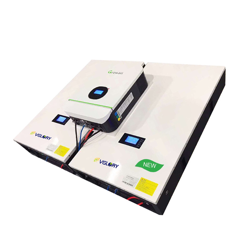 5kwh Lithium Wall Mounted Powerwall Lifepo4 Lithuim Ion Mppt Communictaion Bluetooth Battery 48v 10kwh