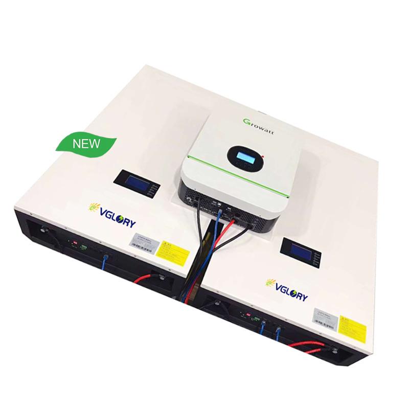 Powerwall 48v 12volt 40ah 200ah 2.5kwh 51.2v 100ah Lifepo4 Energy Storage Ups Lithium Ion Battery