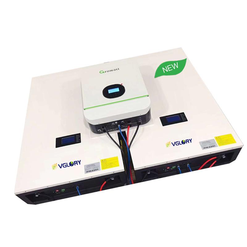 With Bms And Balance 10kwh Solar Lipo Battery Pack Ba Deep Cycle More Than 6000 Cycles Lifepo4 48v 100ah B