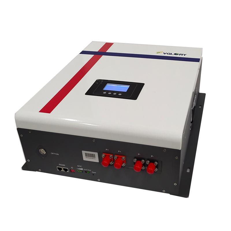 Free Maintenance Custom Lipo Powerwall 48v 50ah 100ah 150ah 200ah 300ah Lithium Ion Battery