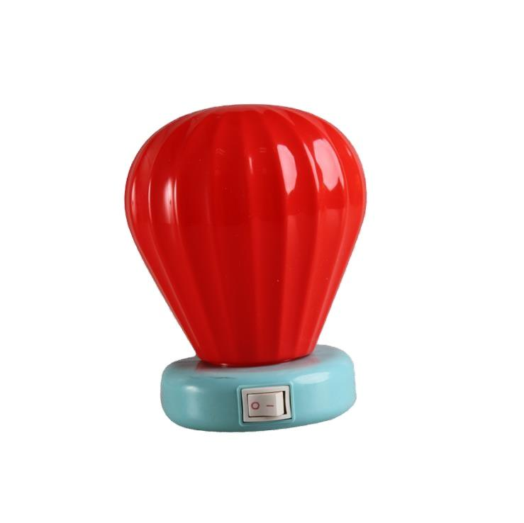 W072 OEM Cartoon cute gifts mini switch plug in balloon LED night light 0.6W AC 110V 220V