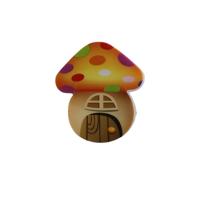 OEM W078 mini switch plug in mushroom LED night light cute gift For Children Baby Bedroom