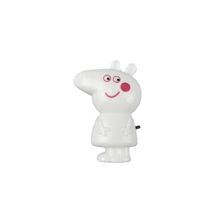 W098 US mini pig switch plug in led cartoon night light For Baby Bedroom decoration child gift