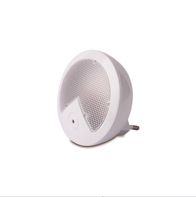 Creative Round shape 4 SMD mini sensor plug in LED night light for baby bedroomW057