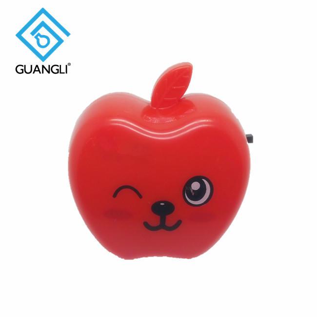 Fruit Apple shape plug in switch cartoon night light