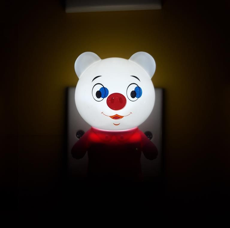 hot sale OEM W118 light sensor tiger lamp switch plug in led night light For Baby Bedroom child gift