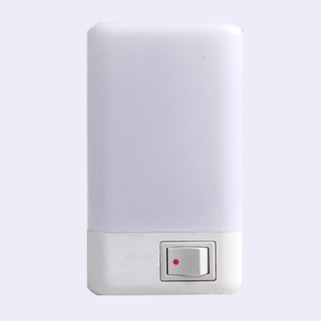 rectangle shape 16 SMD mini switch plug in night light 6W and 110V or 220V W052