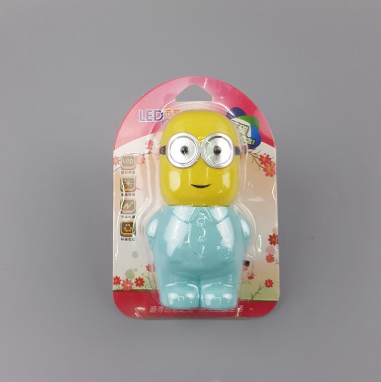 hot sale OEM W121 Popular Minions switch plug in led night light For Baby Bedroom child gift wall decoration