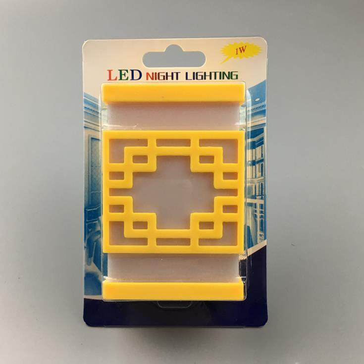 hot sale OEM W109 mini window lamps switch plug in led night light For Baby Bedroom wall decoration