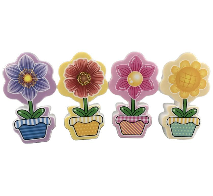W075 OEM mini switch plug in flower pot night light cute gift For Children Baby Bedroom