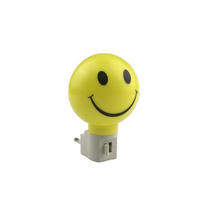 OEM A61-S smile pattern plastic mini switch nightlight CE ROSH approved HOT SALE promotional gift items