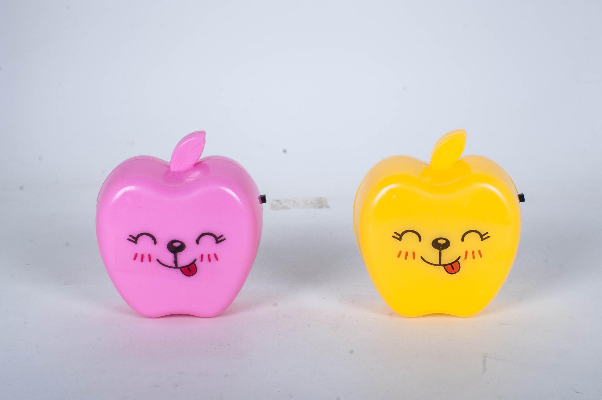 Fruit Apple shape LED SMD mini switch plug in night light with 0.6W and 110V or 220V