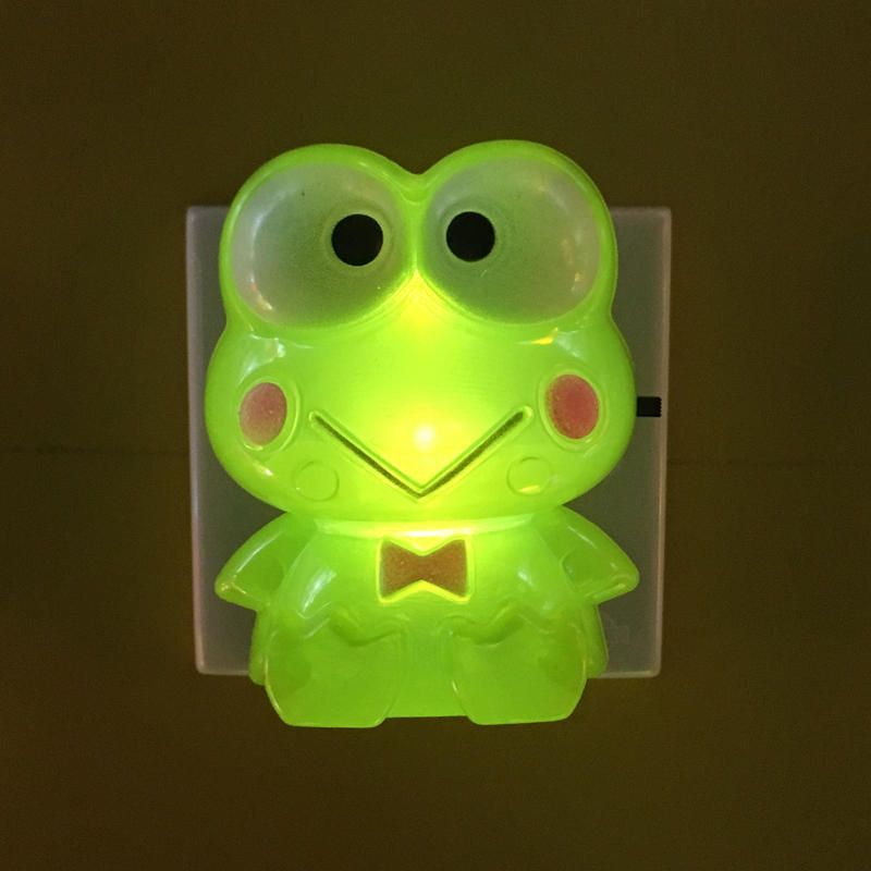 OEM Cartoon shape LED SMD mini switch plug in night light with 0.6W and 110V or 220V W034