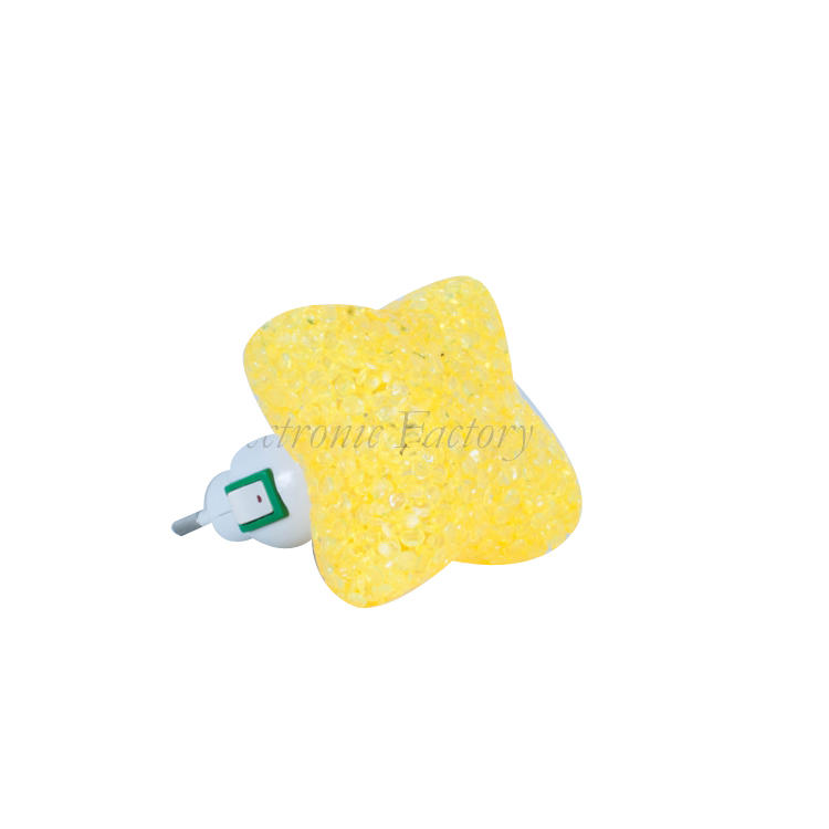 OEM GL-A10 star EVA mini switch LED nightlight CE ROHS approved HOT SALE promotional gift items