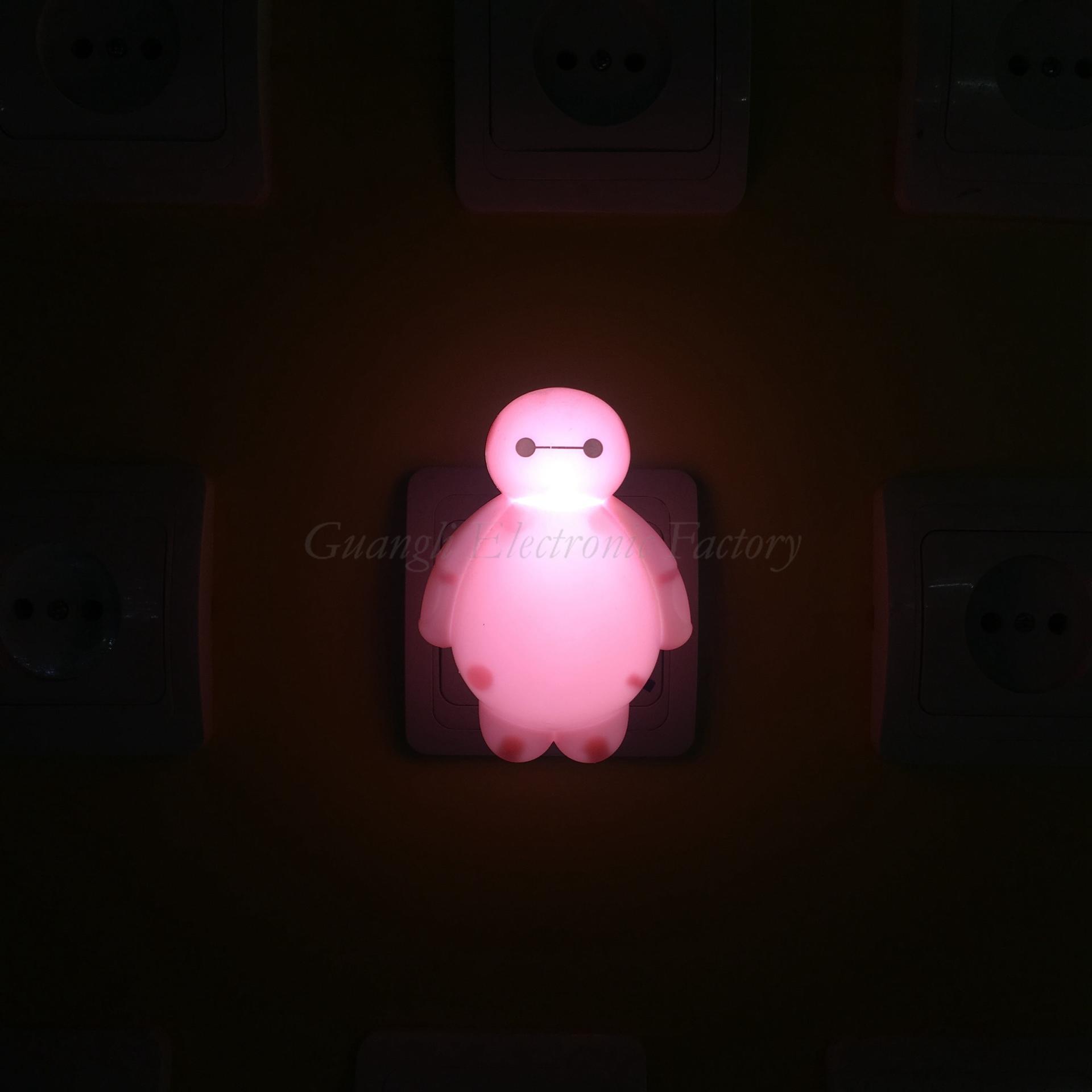 OEM LED Night Light Lamp Creative Cartoon Style Baby sleep Lights decoration LAMP Nightlight EU and US Plug