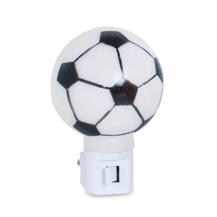 OEMA61-F football plastic mini switch night light with bulb CE ROSH approved promotional gift items