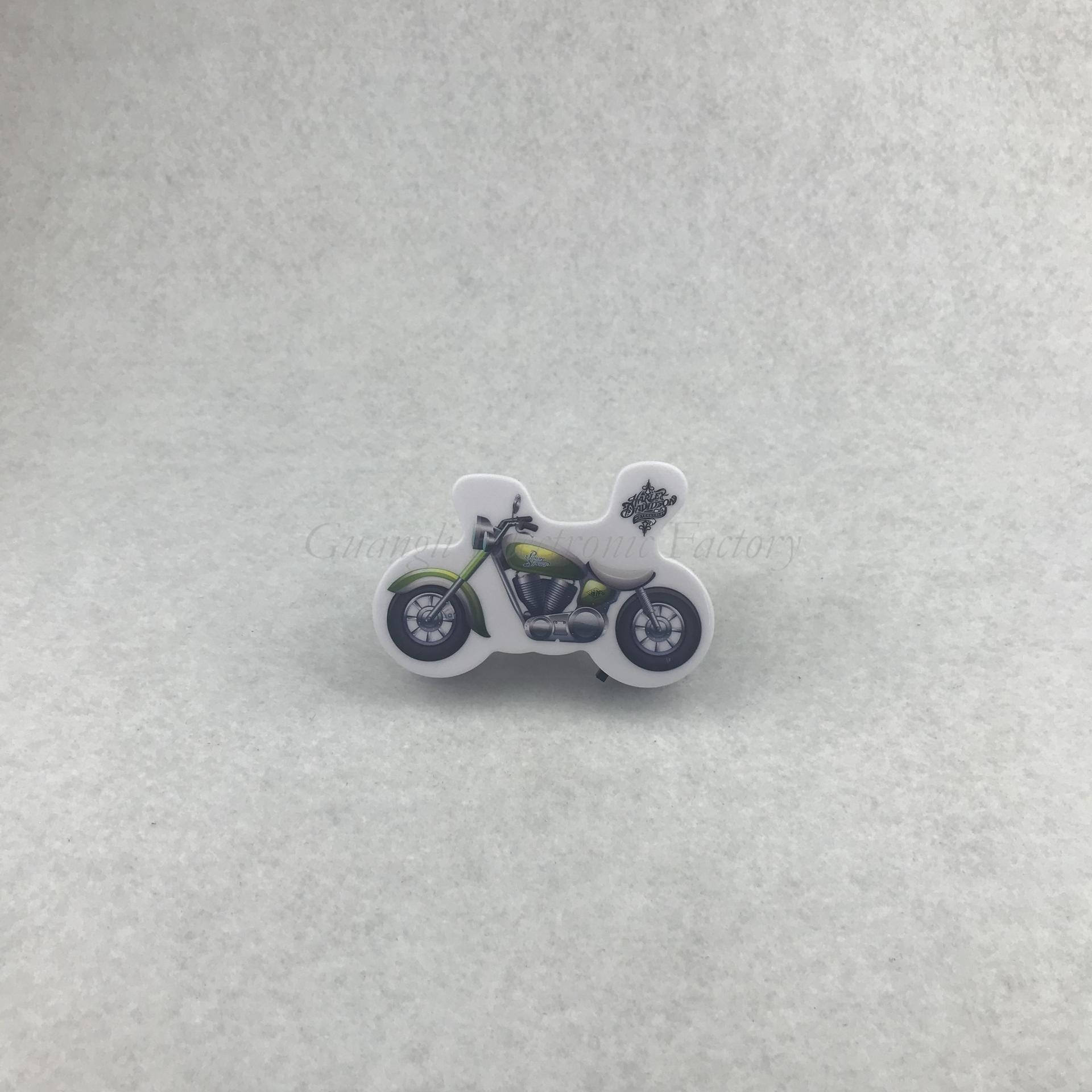 4SMD mini switch plug in motorbike Motorcycleroom usege night light For Baby Bedroom cute gift W012