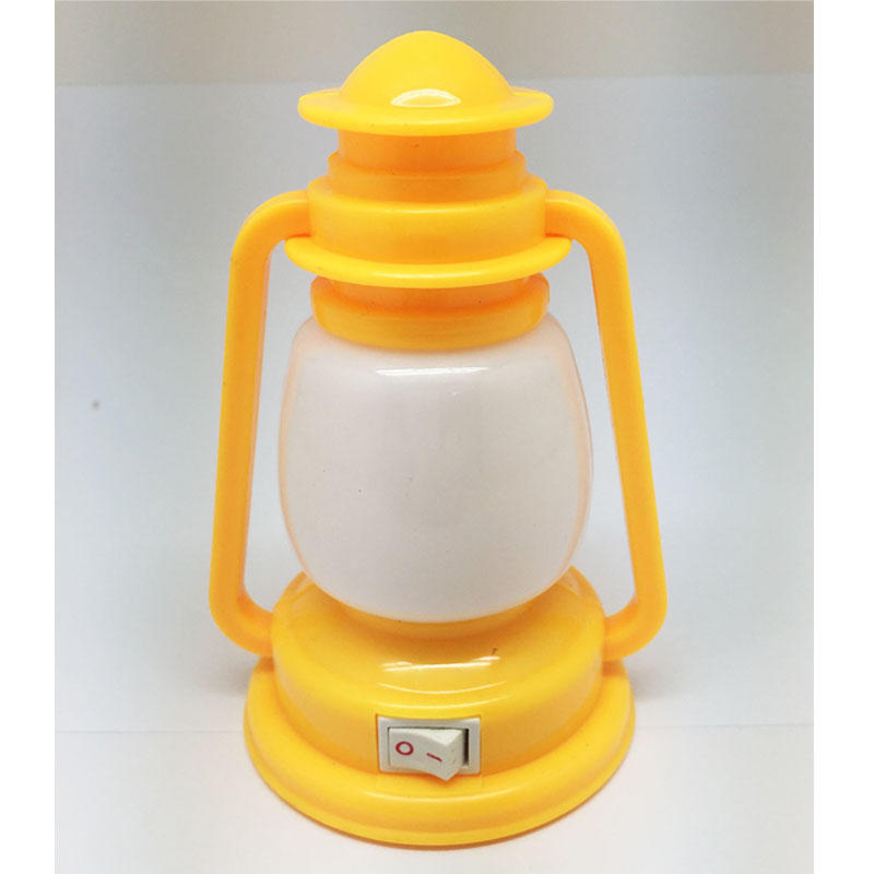 OEM 0.6W and 110V or 220V lotus lantern LED mini switch plug in plastic night light