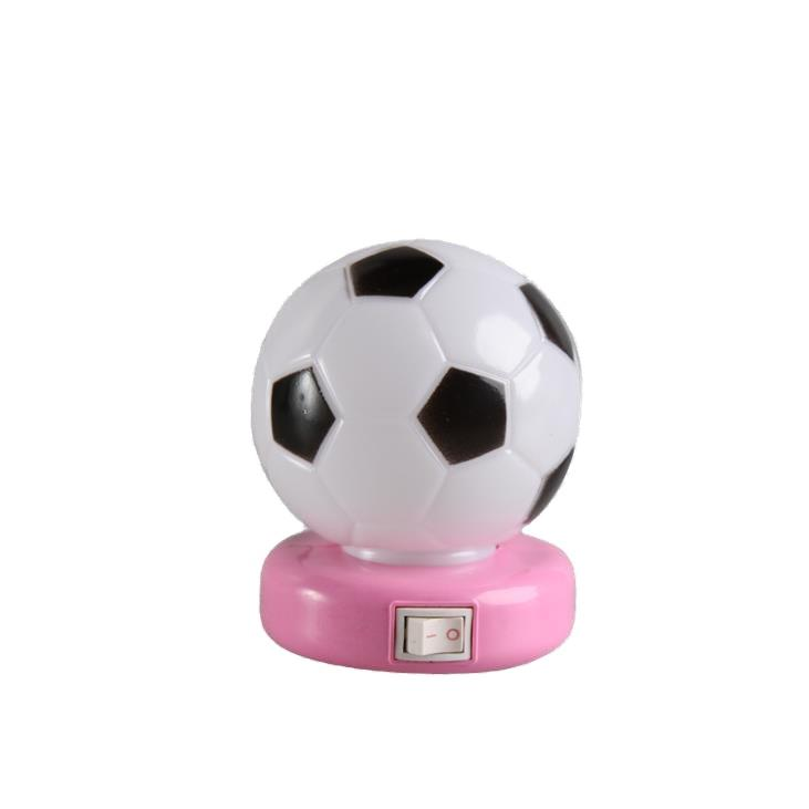 OEM W071 World Cup Souvenir gifts Soccer Football 5SMD mini switch plug in LED night light 0.6W AC 110V 220V