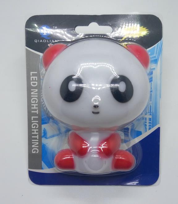 Holiday Gift OEMGL-W008 plug in night light Cute Panda Cartoon animal kids Bed Desk Table decoration Lamp