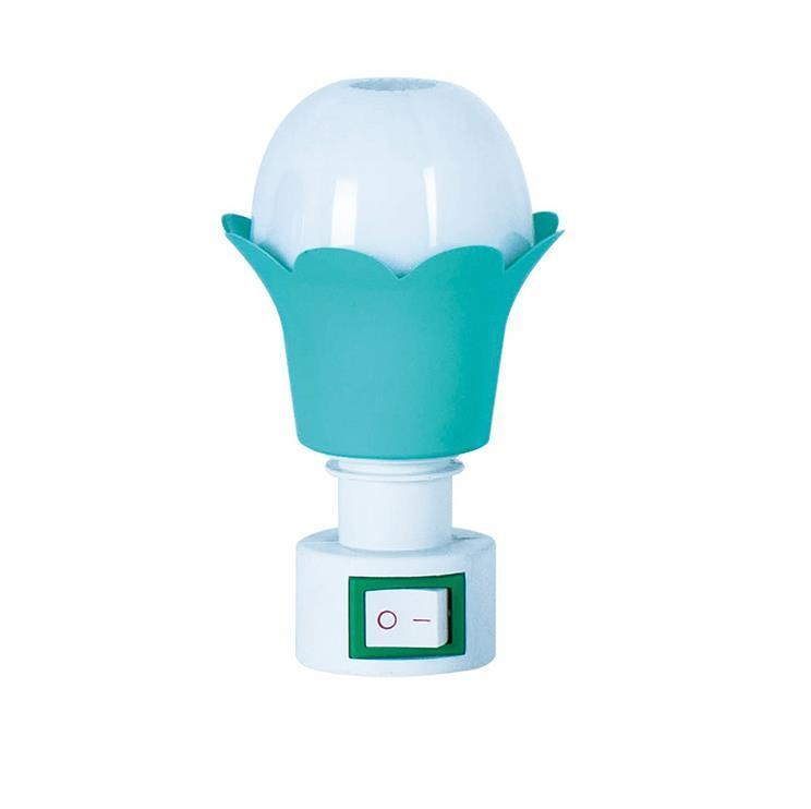 OEM A02 mini colorful Flower switch nightlight CE ROSH approved HOT SALE promotional gift items