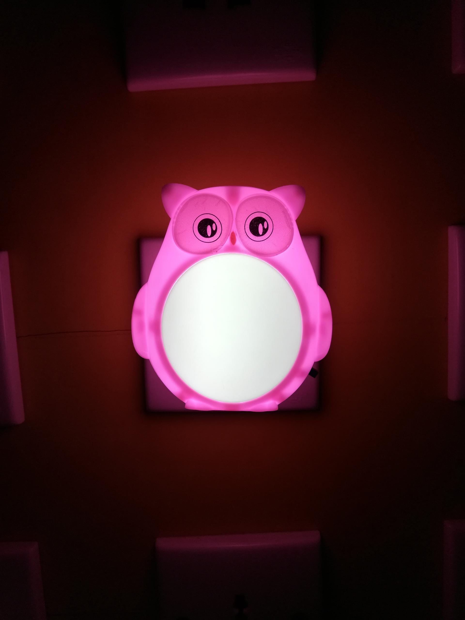 W004 Helloween owl lamp switch plug in led night light For Baby Bedroom holiday gift for children