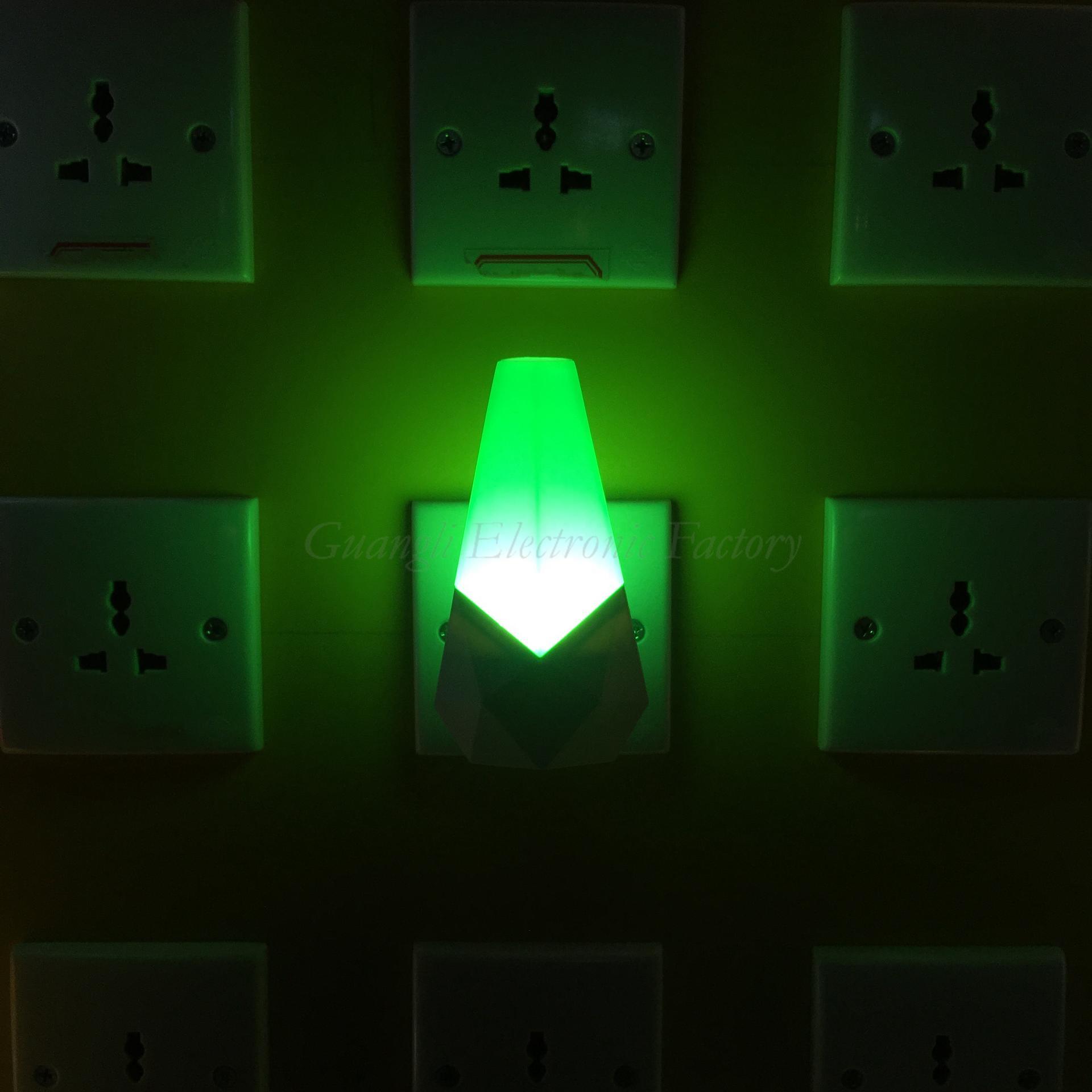 W054 cartoon night 4 SMD mini switch Sensor plug in night light with 0.6W AC