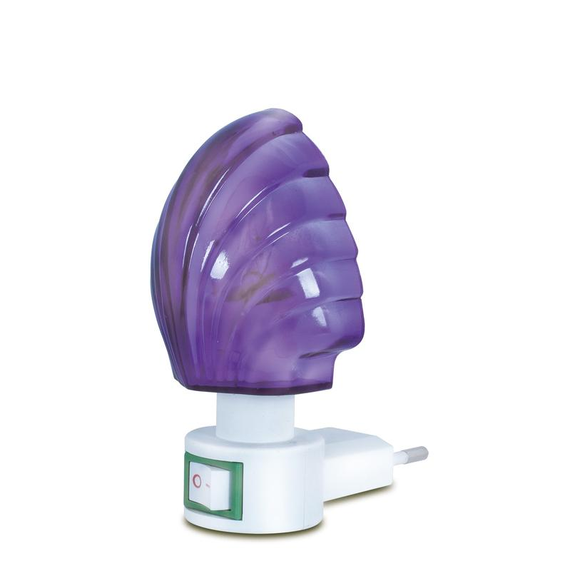 A01 mini colorful Sea shell switch nightlight CE ROSH approved HOT SALE promotional gift items