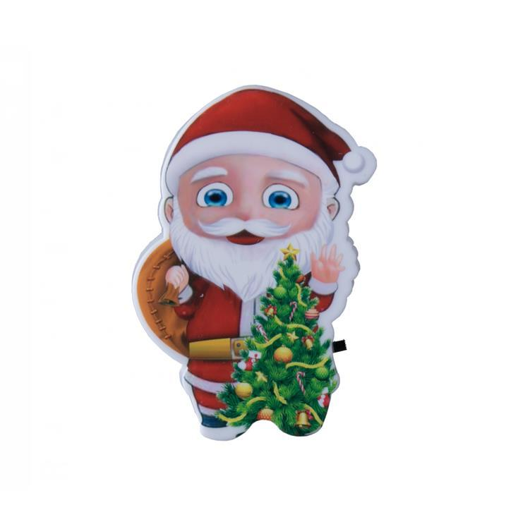 W086 US mini switch plug in xmas christmas trees Santa Claus led night light For Baby Bedroom