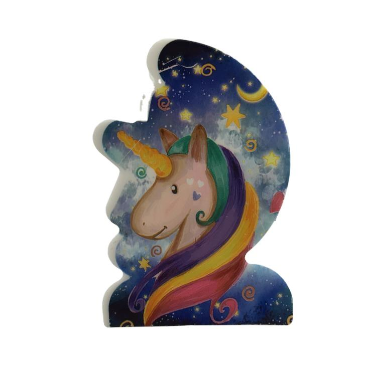 OEM W089 4SMD mini switch plug in moon and star Unicorn room usage night light For Baby Bedroom cute gift