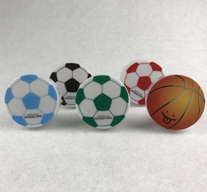 W070 OEM World Cup Souvenir gifts mini switch plug in football basketball LED night light with 0.6W AC 110V 220V
