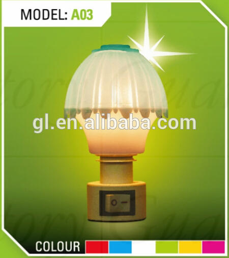A03 table lamp shape mini switch night light CE ROHS approved HOT SALE promotional gift items