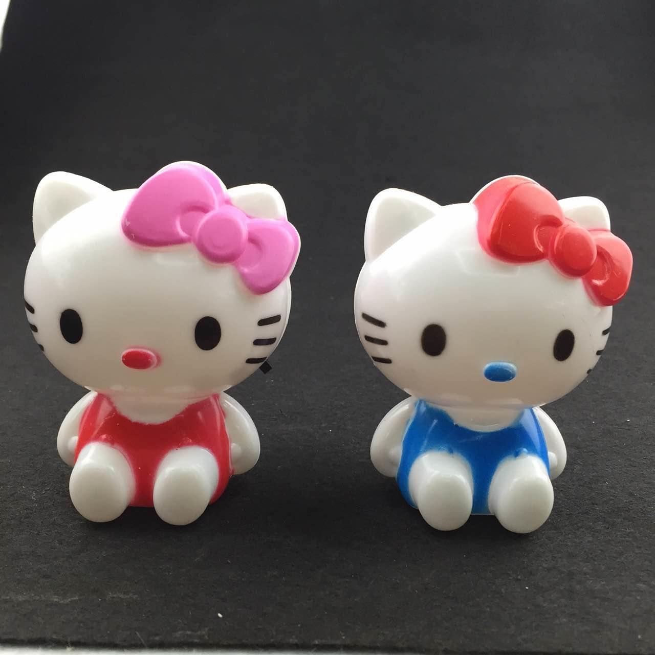 W069 OEM cute cat shape with bowknot LED SMD mini switch plug in night light with 0.6W and 110V or 220V