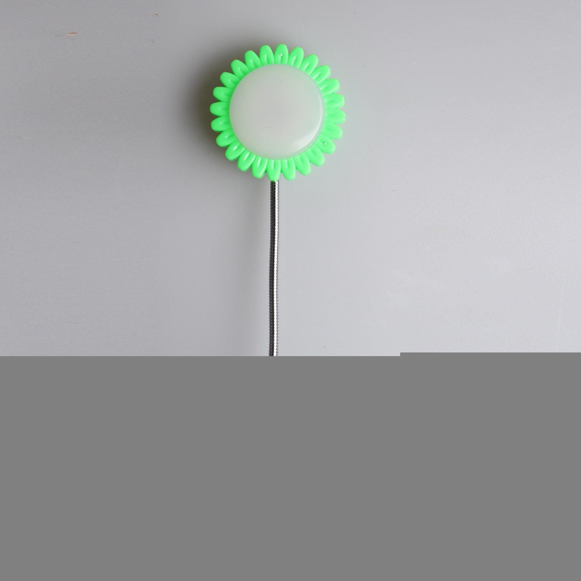 Sunflower shape 16SMD mini switch plug in table lamp night light with 1.5W AC 110V or 220V W049