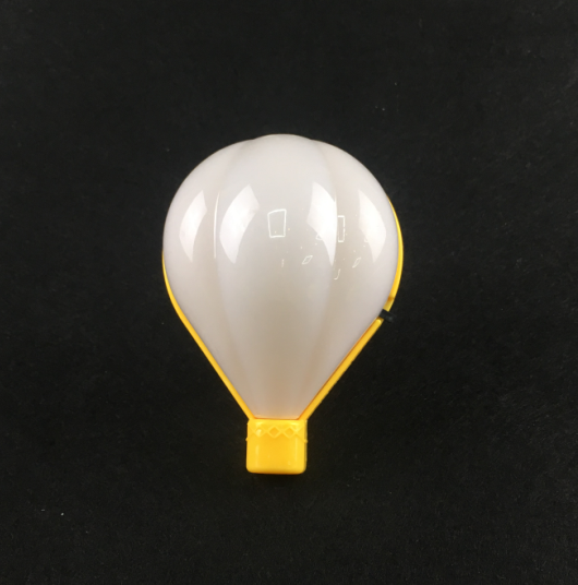 W043 Fire balloon shape 3 SMD mini switch plug in night light 0.6W AC 110V 220V