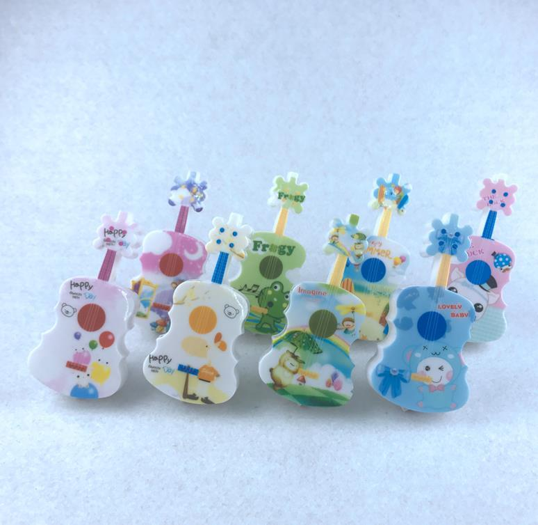 W060 OEM guitar lamp cute gift mini switch plug in night light For Children Baby Bedroom