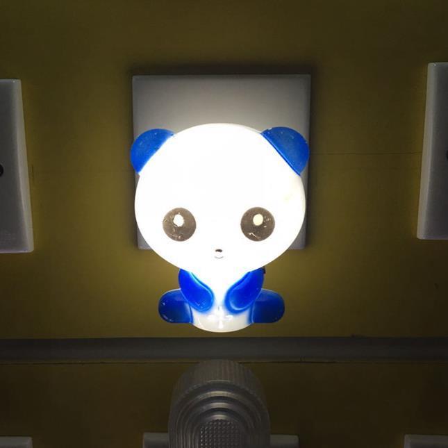 GL-W008 Cute Panda Cartoon animal kids night light Bed Desk Table Lamp Sleeping Gift plug in lighting