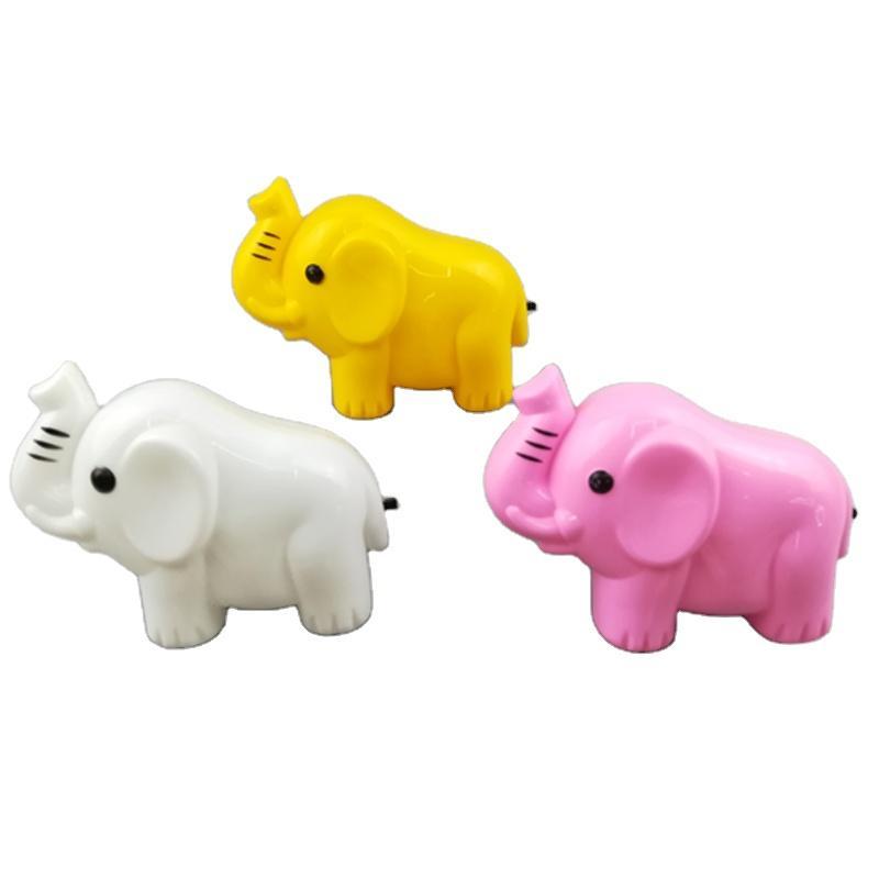 OEM W027 Elephant shape LED SMD mini switch plug in night light with 0.6W and 110V or 220V