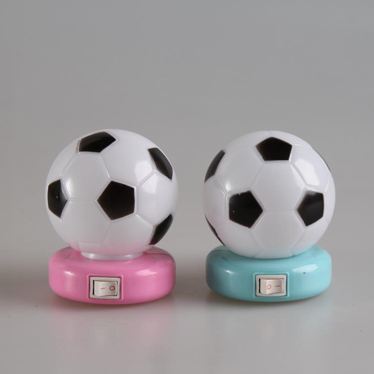 OEM W071 World Cup Souvenir gifts Soccer Football 5SMD mini switch plug in LED night light 0.6W AC 110V 220V