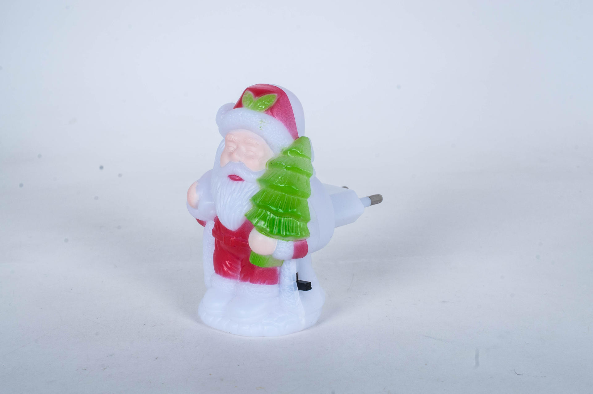 with 0.6W and 110V or 220V W016 snowman Christmas shape LED SMD mini switch plug in night light